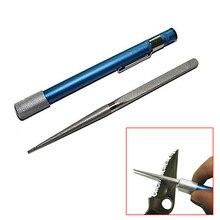 Открытый Портативный Алмазный точильный камень Ручка палка Тип зернистой заточной станок Охота кухонные инструменты QJ888