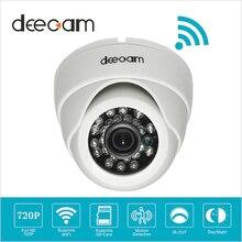 Deecam Cámara Domo IP Inalámbrica Wifi HD 720 p SD Wi-fi Tarjeta de Red Doméstica Sistema de Cámaras de Seguridad de Vigilancia Camaras de Seguridad