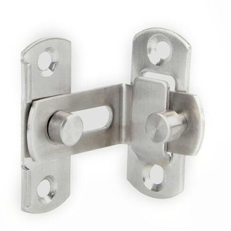 90 Degree Hasp Latches Stainless Steel Sliding Door Chain