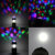 Portátil Mini 3 em 1 Mult-função leve Lanterna Dobrável Caminhadas Luz Da Noite Numa Tenda Lâmpada Lanterna Camping Luzes