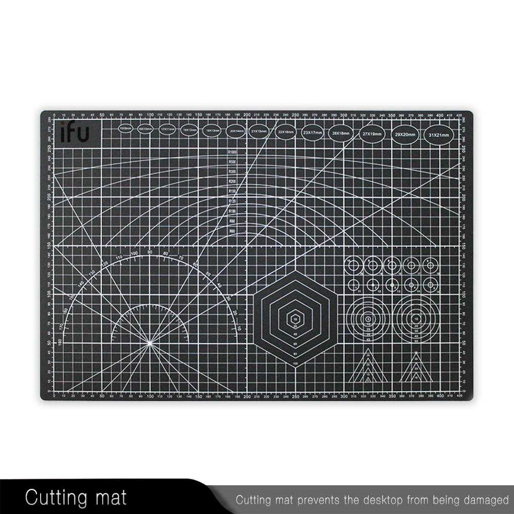 Ifu A3 A4 PVC Cutting Mat Plate For Scrapbooking Quilting Sewing Fabric Board Engraving Patchwork Crafts Self Healing Cut Pad