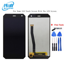 For NOMU S10 LCD Display+Touch Screen Assembly High Quality Digitizer Glass Panel Replacement For S10 Universal Pantalla +Tools 8 high quality lcd touch panel screen glass digitizer repair for teclast x80h f wgj80156 v2
