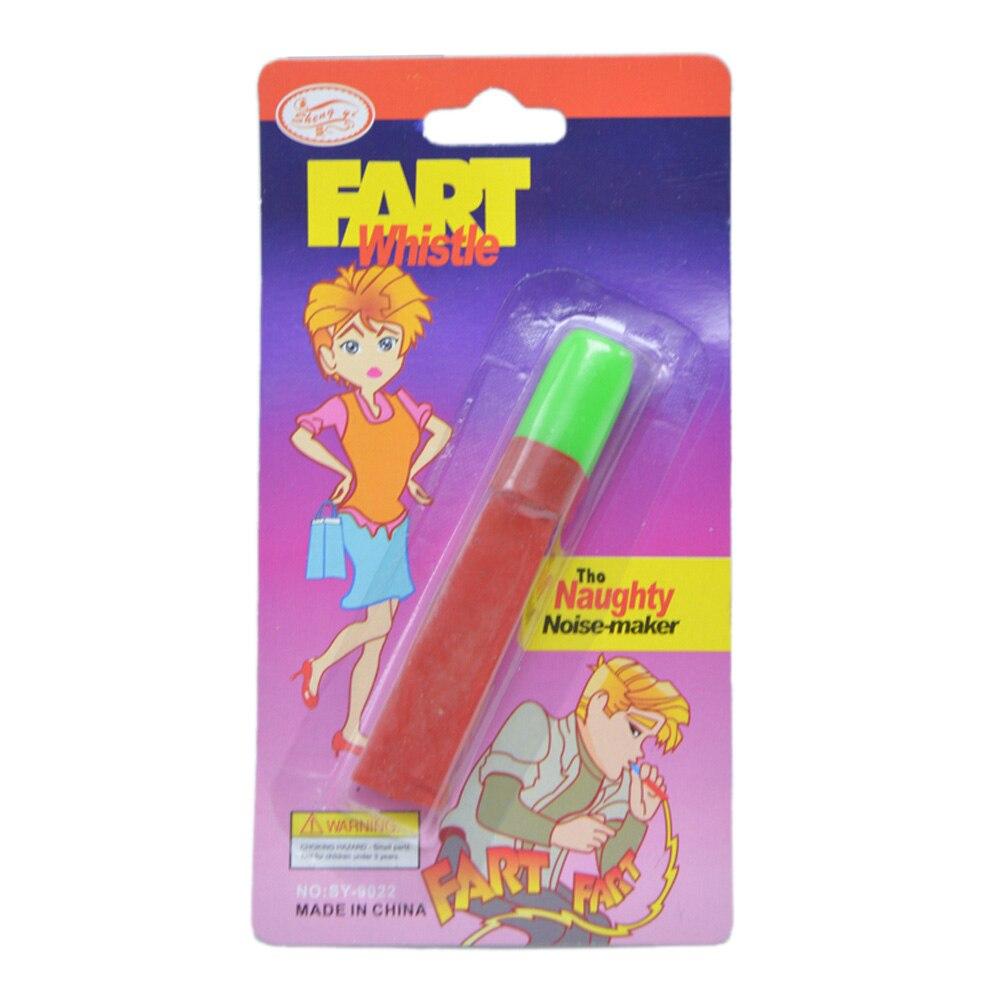 Classic Noise Toy Prank Tool Fun Gag Gift Cheerleading Kids Boy Trick Joke FART Whistle