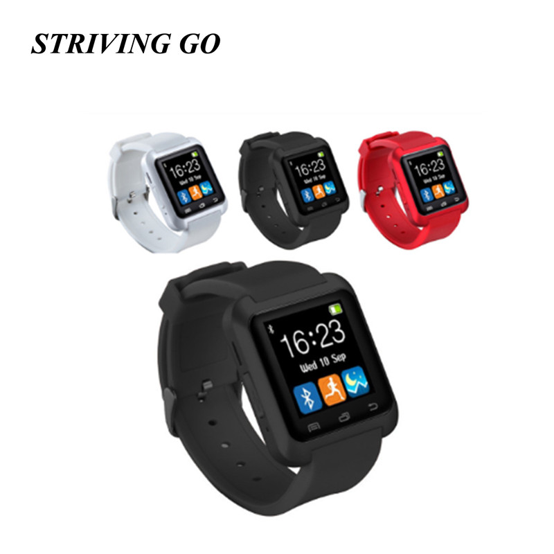2020 Bluetooth Smart Watch U8 For iPhone IOS Android Smart Phone Wear Clock Wearable Device Smartwatch PK DZ09 Q18