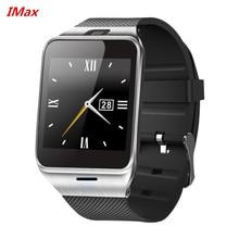 Freies dhl großhandel gv18 smart watch bluetooth smartwatch telefon unterstützung nfc 1.3mp cam sync anruf sms für samsung android pk DZ09
