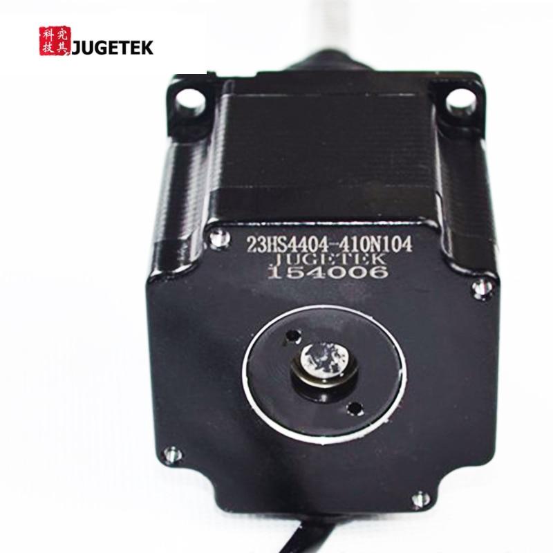 410mm Length Tr10*4 Lead Screw Linear NEMA23 Stepper Motor nema23 linear stepper w 310mm tr10 4 lead screw for 3d printer desktop straight screw motor