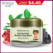 BIOAQUA Skin Care Nutrition Repair Face Cream Carbonated Bubble Clay Dispel the black head Whitening Moisturizing Facial Masks