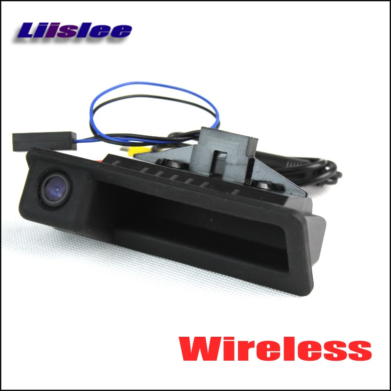 цены на Liislee Wireless Car Rear View Camera For BMW X1 E84 / X3 E83 / HD Back Up Reverse Camera / Night Vision / Trunk Handle