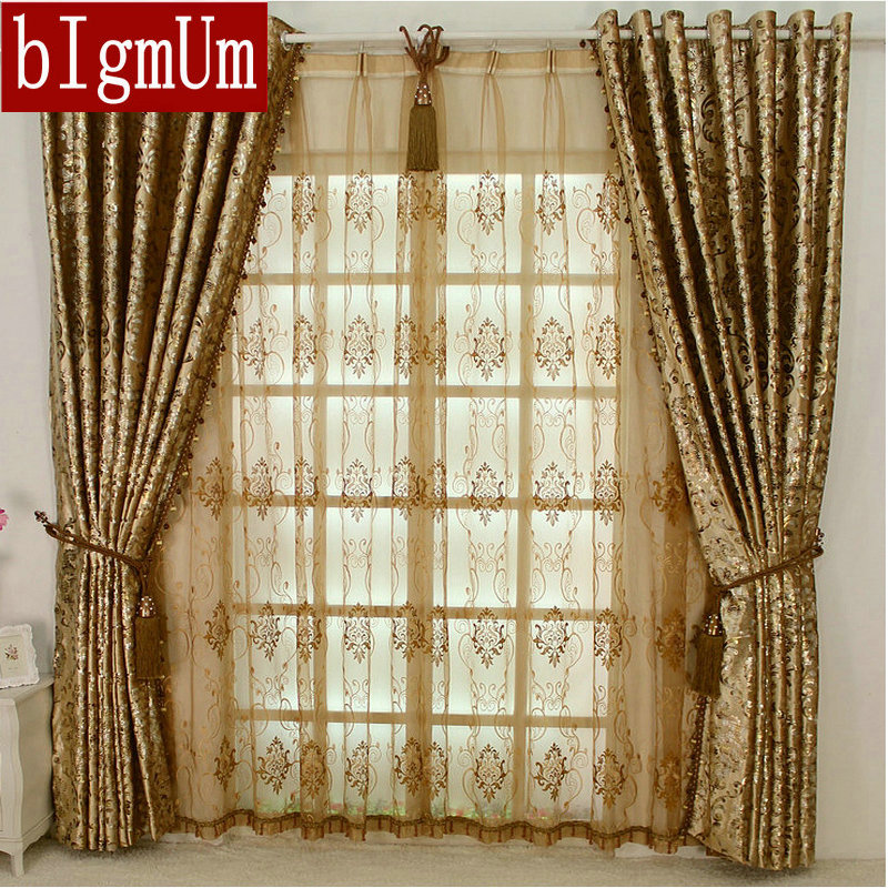New Arrival Europen Style Luxury Palace Curtains With
