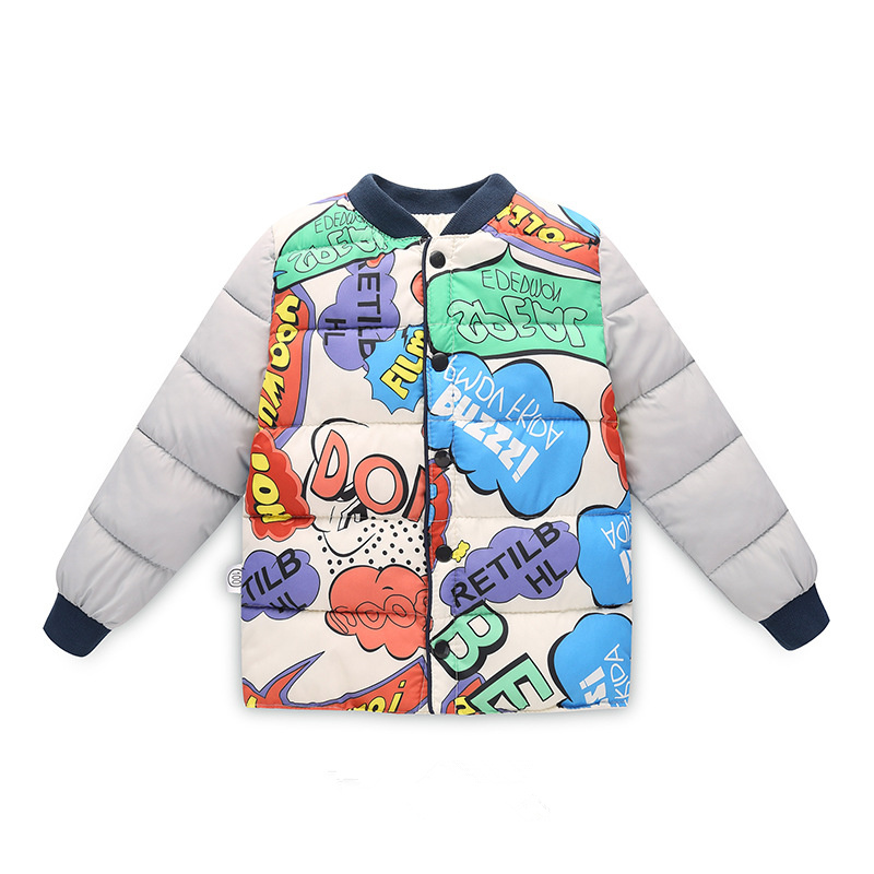 Winter Jacket For Boy Casual Outwear Infant Overcoat Girl Down Jacket Autumn Boys Parka Print Children Jacket Warm Kids Clothing earth 2 society vol 4 life after death