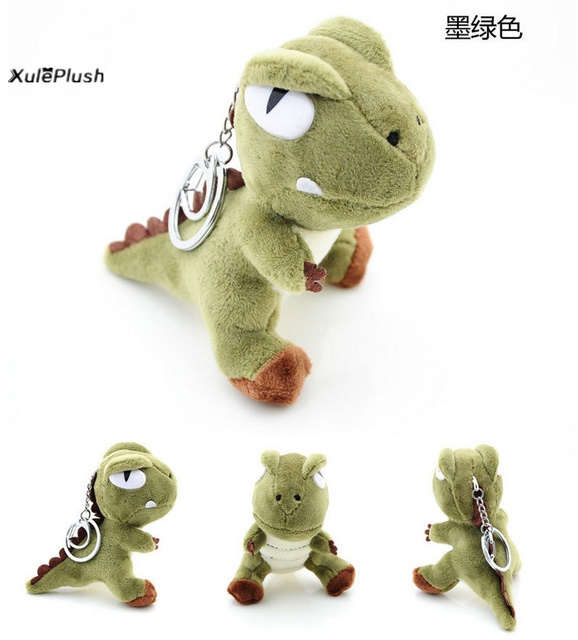 Super Quality Delicate 10cm Height Green Dragon Plush Stuffed Toy
