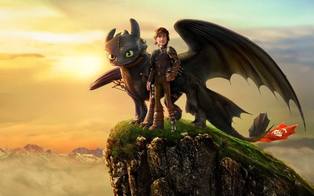 Free shipping,How to Train Your Dragon,Poster HD HOME WALL Decor ...