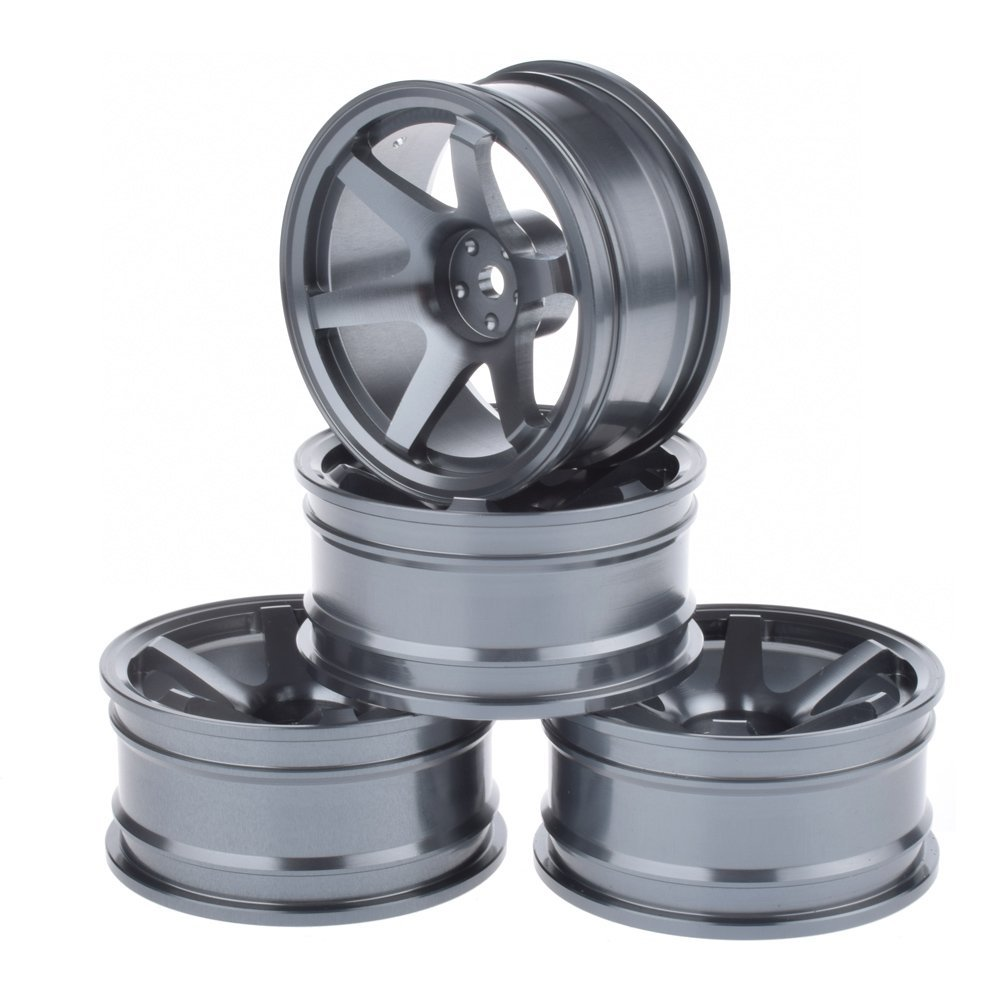 1/10 RC Drift Car Aluminium Alloy Wheel Hubs Diameter 52mm for HSP Sakura HPI Kyosho Tamiya RC Car 4pcs aluminium alloy wheel hub tire wheels for rc on road car fit for 1 10 hsp tamiya kyosho on road car model