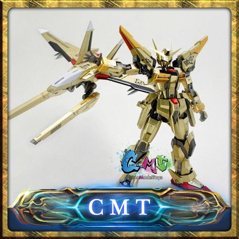 CMT DRAGON MOMOKO SEED DESTINY 1/100 MG ORB-01 AKATSUKI GUNDAM MODEL KIT action figure