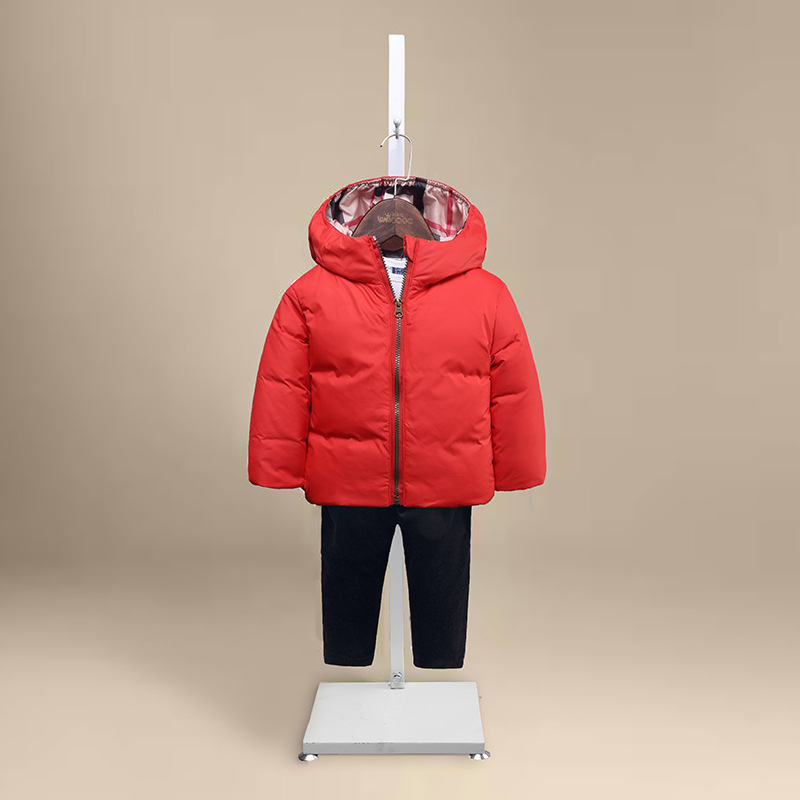 2016 Winter Children Down Jacket Coat Casual boys girls Thicking Keep warm hooded Outwear Long-sleeve Small bread down jacket boys girls winter coat kids hooded long sleeve stars printed down jacket toddler cotton outwear children casual clothes infant