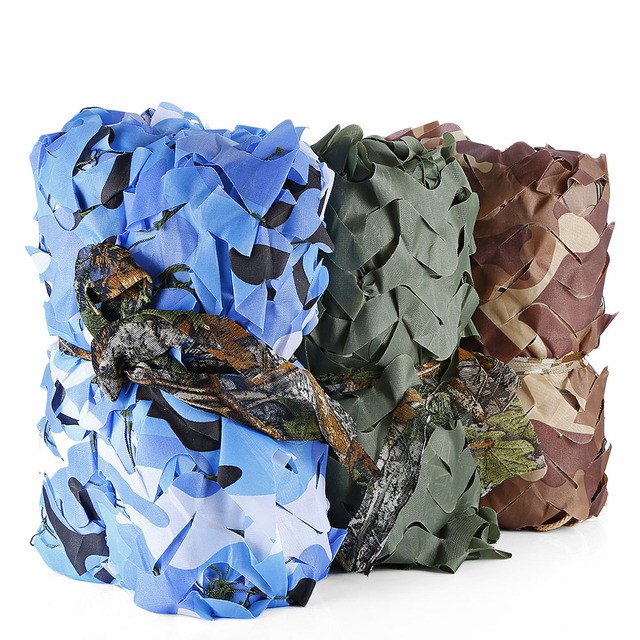 All Sizes Camping Sun Shelter Hunting Military Camouflage Net Woodland Army Camo Netting Car Covers Tactical Tent Shade