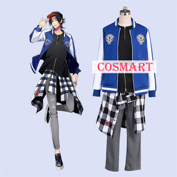 Japanese Voice Actor Division Rap Battle DRB Yamada Nirou Jiro Cosplay Costume Uniform Outfit free shipping