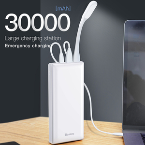 Image 2 - Baseus Power Bank 30000mAh Powerbank USB C Fast Poverbank For Xiaomi iPhone 12 Pro Portable External Battery Charger Pover bank