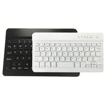 Тонкая портативная Мини Беспроводная Bluetooth клавиатура для планшета, ноутбука, смартфона, iPad, Поддержка IOS, Android, система, телефон Универсальный