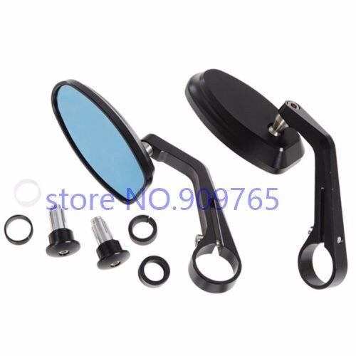 Motorcycle CNC 7 8 Handle BAR END Rearview Mirrors For Honda Kawasaki Suzuki Yamaha KTM Harley