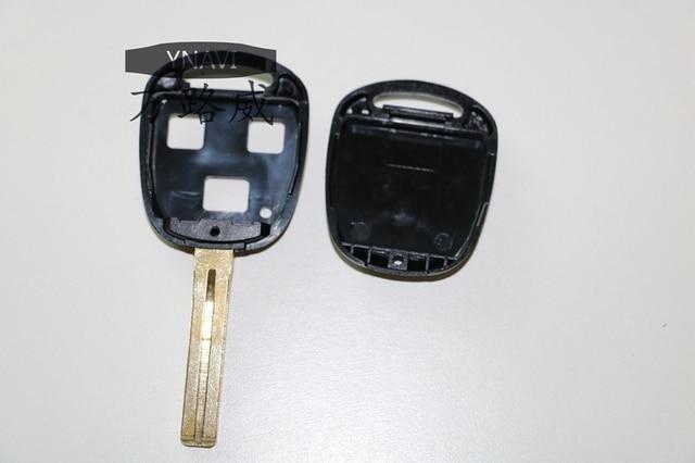 1 pc Fob Wymiana Remote Key Shell Case 3 Przyciski osłona Fit Dla Lxs IS200 GS300 LS400 RX300 Toy48 41mm Ostrze