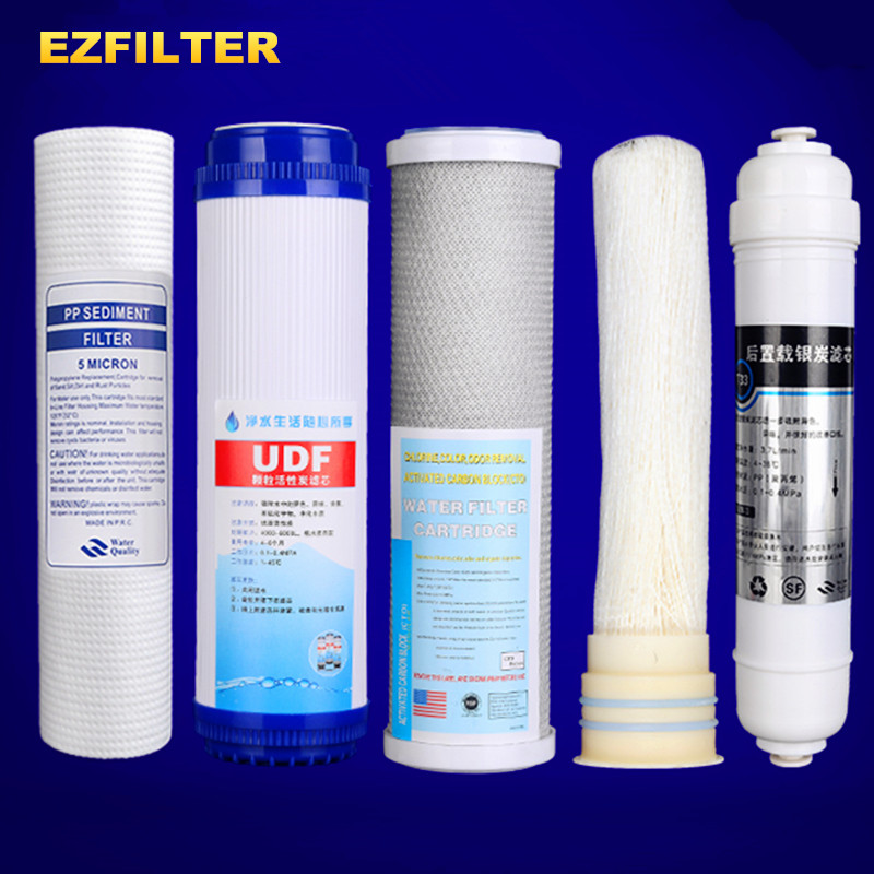 5 Stages Ultrafiltration Water Purifier Filter 10 Inch General Filter Element PPF+UDF+CTO+Ultrafiltration membrane+Carbon Filter5 Stages Ultrafiltration Water Purifier Filter 10 Inch General Filter Element PPF+UDF+CTO+Ultrafiltration membrane+Carbon Filter