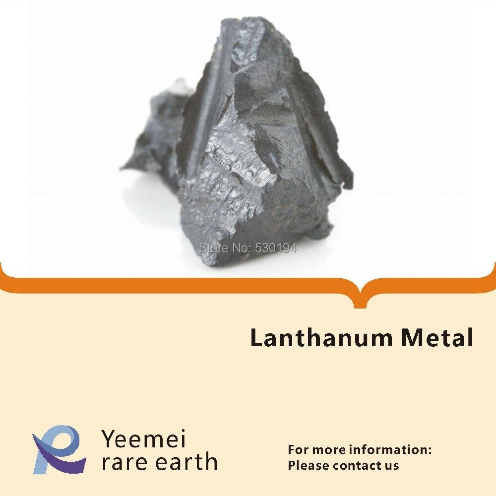 Métaux de terres rares-métal de lanthane 99.5%