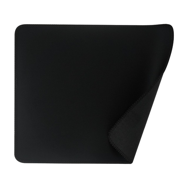 Drop shipping 24*20cm Universal Black Slim Square Gaming Mouse Pad Mat Mouse Pad Muismat For Laptop PC Computer Tablet