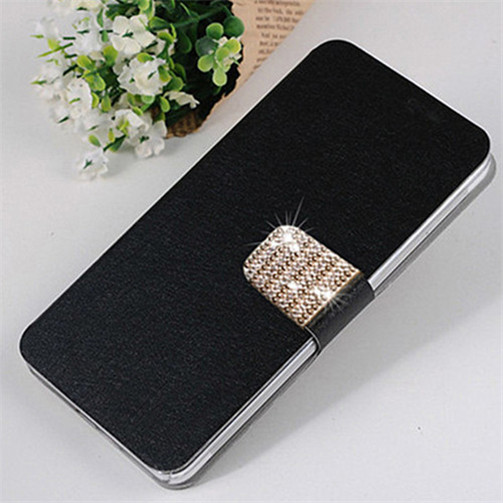 Luxury Leather Case For Samsung GALAXY Grand 2 Duos sm-G7102 G7105 G7106 Flip Cover Case For Samsung Grand 2 Wallet Case Card image