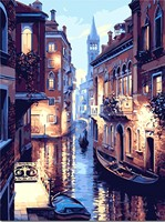 New DIY Oil Paint Painting By Numbers Diy Picture Drawing Coloring On Canvas Painting By Hand