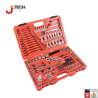 Jetech 150pc Professional Auto Repair Tool Set Multi Tool Combination Tool Box Socket Bit Driver Hex