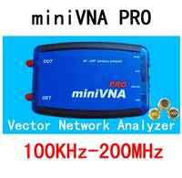 100 K-200 MHz de analizador de red miniVNA PRO VHF/NFC/RFID, antena RF de previsiones de la señal generador de cables de acero/S-parámetro/Smith