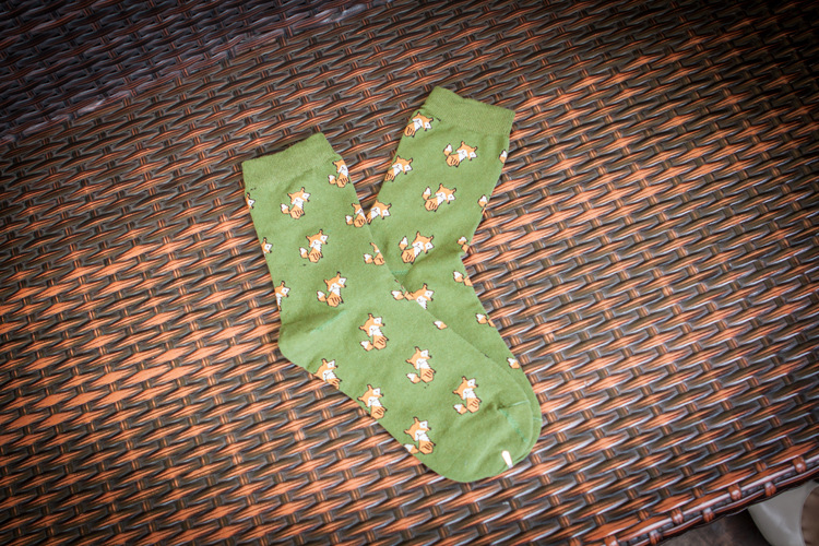 Quality New Creative Men Women Zoo Cotton Socks Animals Fox Dog Female Cartoon Unisex Lovely Women Socks Drop Shipping 1 Pair 11