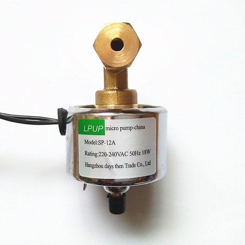 1200W1500W smoke machine pump accessories Model SP 12A voltage 220 240VAC 50Hz power 18W