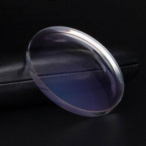 Image 2 - Novo 1.61 lentes de visão única para homem e mulher clara óptica lente de visão única hmc, emi aspheric anti uv