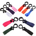 10 Colors Stroller Accessories Multifunction Baby Stroller Hook Pushchair Hanger Hanging Hooks