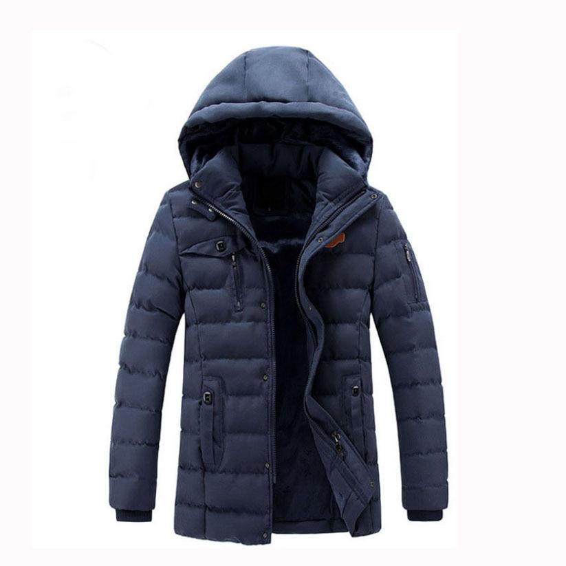BETTONAL 2017 Autumn Winter Jacket Men Parka Hooded Coat Male Casual Coats Cotton-Padded Fashion Quality Style PYEYH1519