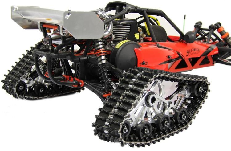 1/5 Scale Rovan Baja Crawler Snow Ground Tires Caterpillar Band Track Special Track HPI KM BAJA 5B 5T 5SC Upgraded Part baja 95175 57t metal gear assembly 5b 5t 5sc hpi km rovan baja 5b 5t sc ss 30 5cc truck buggy steel spur gear 57t 17t set
