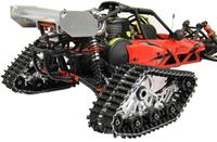 1/5 Scale Rovan Baja Crawler Snow Ground Tires Caterpillar Band Track Special Track HPI KM BAJA 5B 5T 5SC Upgraded Part