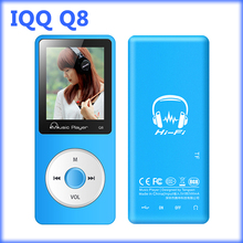 IQQ grabadora mp3 lossless Q8 deporte reproductor de mp3 con alta calidad Apoyo reproductor de música radio fm Ranura Para Tarjeta Micro DEL TF 16/32 GB MP 3
