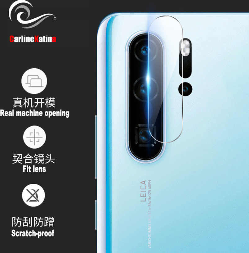 2.5D Tempered Camera Glass for Huawei P30 pro P30 Lite Protector Back Camera Arc edge Protective Lens Film Cover Privacy Skin