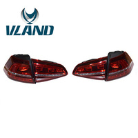 VLAND Factory For Car Tail Lamp For Golf MK7 Tail Light For 2013 2014 2015 Golf7 Gti LED Taillight All LED Design+Plug And Play