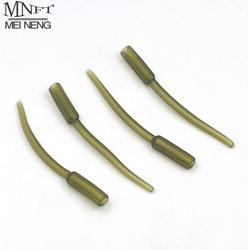 MNFT 12Pcs  60mm Long Soft Lead Tubes Making Carp Pike Green Inline Lead Inserts
