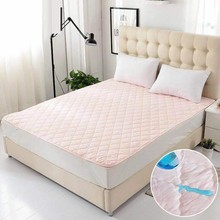 Waterproof Mattress Protector Bed Cotton Terry Matress Cover 100%  Bug Proof Dust Mite Mattress Pad Cover For Mattress Sheet Bed free shipping terry waterproof mattress protector cover for bed bug suit for uk mattress size