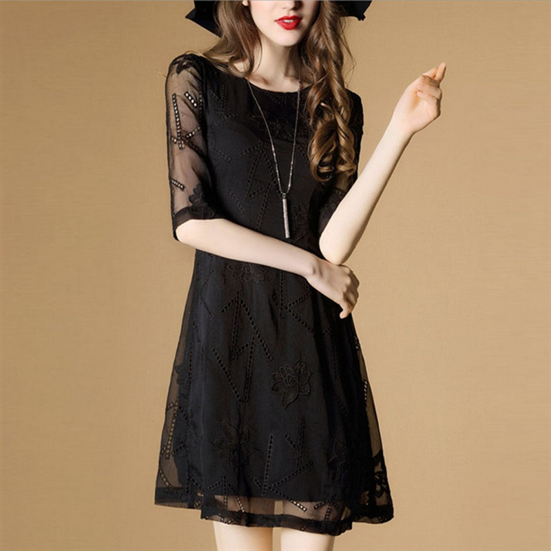 Black dress h&m galleria mall