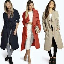 Spain Vintage Clothes Winter Woman Elegant Coat 2019 Outerwear Oversized Irregular Western Style Windcheaters Jackets Warm