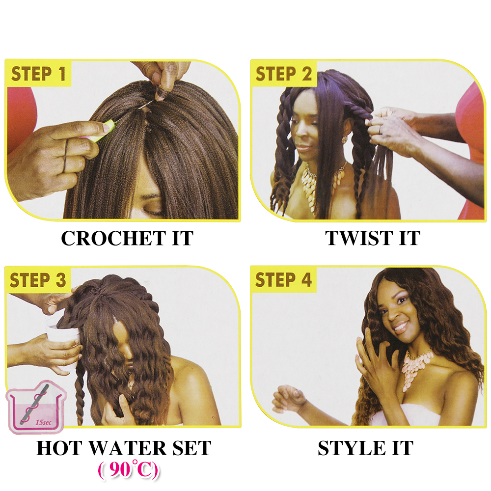 Honest Spring Sunshine Crochet Hair 26 Inch Easy Jumbo Braids Hair Ombre Braiding Hair Synthetic Extension Low Temperature Fiber Hair Extensions & Wigs Jumbo Braids