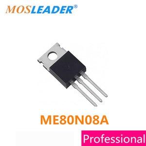 Image 1 - Mosleader DIP ME80N08A TO220, 100 Uds., TO220 3, ME80N08, 80N08, Mosfets, alta calidad