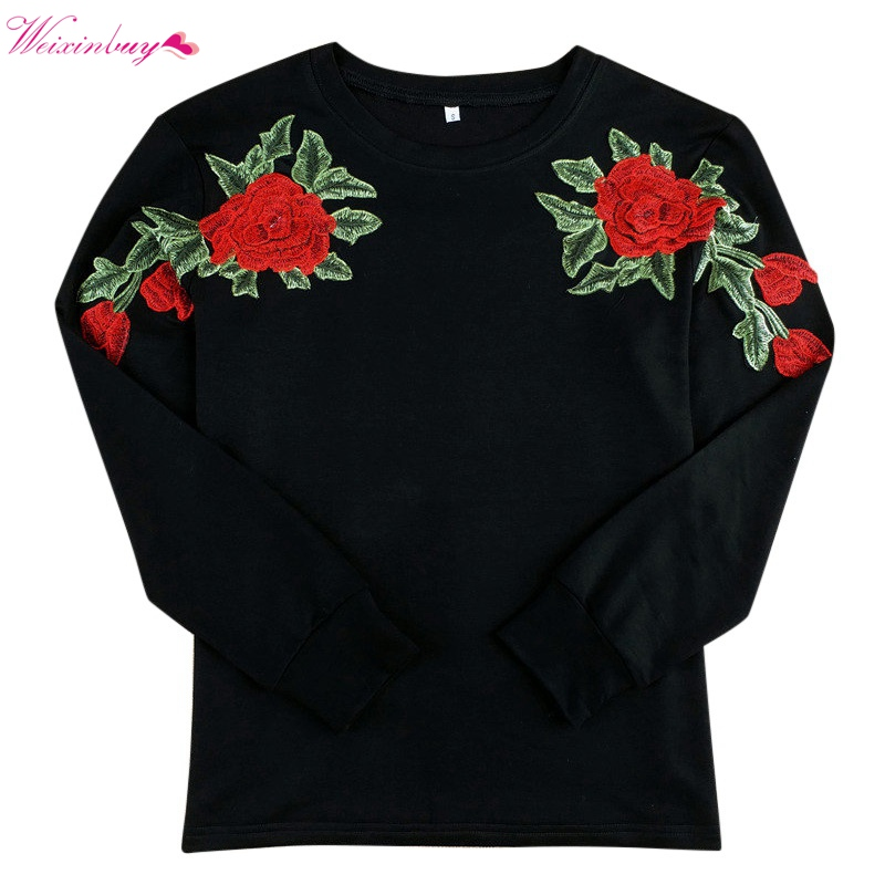 2017 People Are Poison Rose Sleeve Print Hoodie Sweatshirt Black Tumblr Inspired Aesthetic Pale Pastel Grunge Aesthetics
