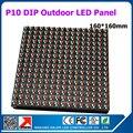 36 pcs 1 metros quadrados 16 x 16 pixel RGB módulo P10 impermeável ao ar livre 1/4 de verificação 160 x 160 mm RGB P10 módulo de led